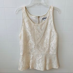 EXPRESS Ivory Lace Camisole